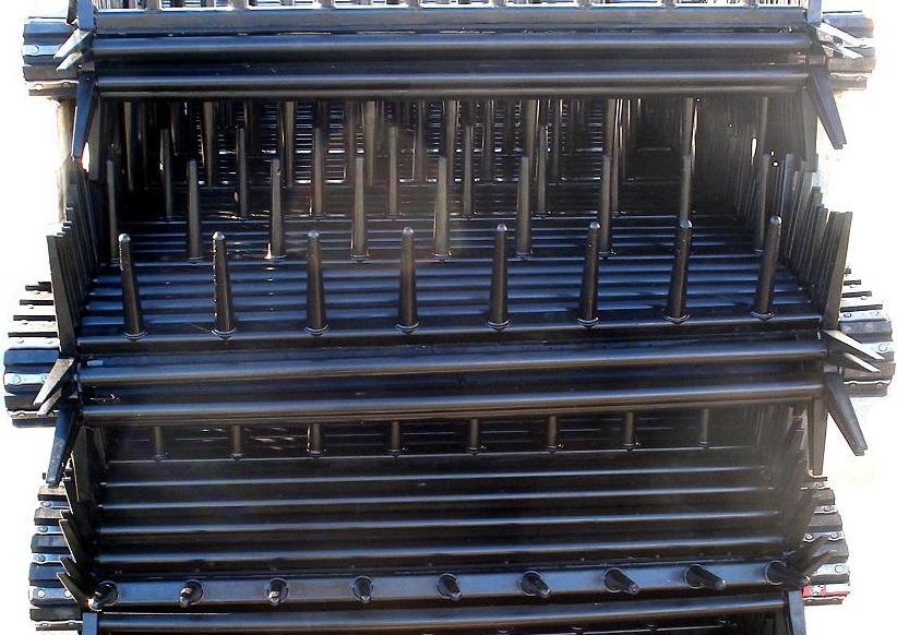 Stack of PU Elevators