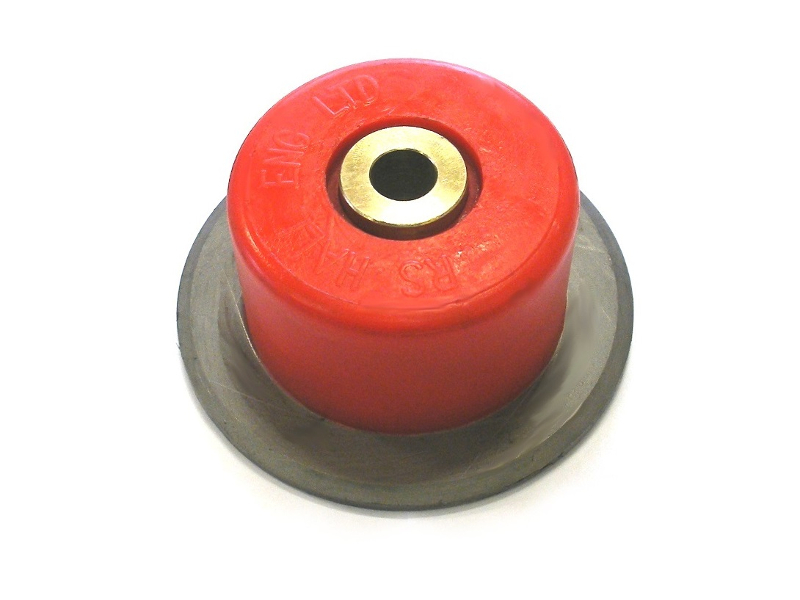 Roller with cap fitted