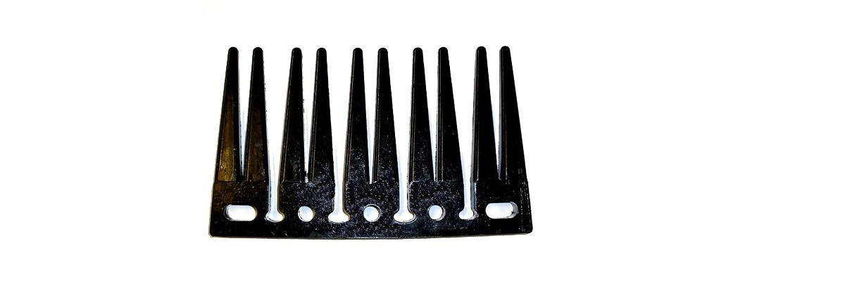 Side FIngers of PU Elevator Webs Softer Tops