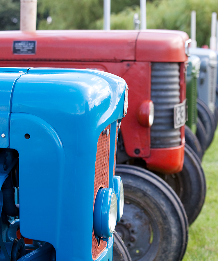 vintage tractor show